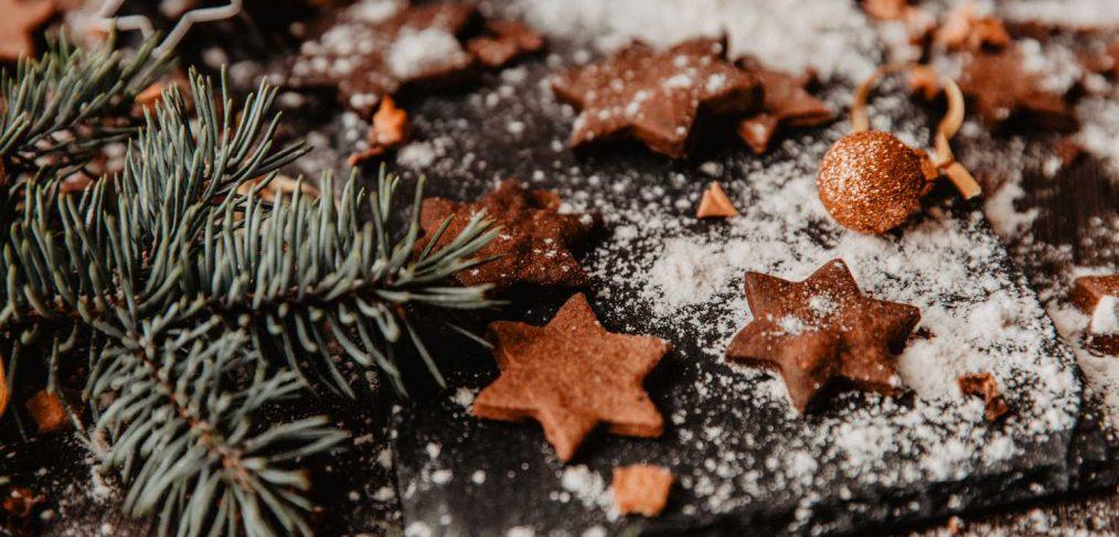 Vegane Weihnachtsplätzchen ohne Zucker 6 ohne Weizenmehl