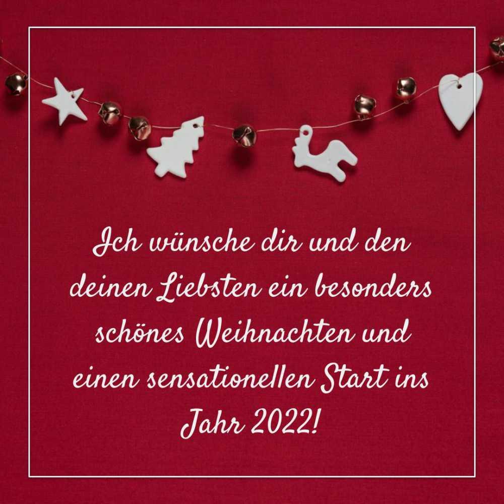 Besinnliche Weihnachtswünsche 2021 und neues Jahr